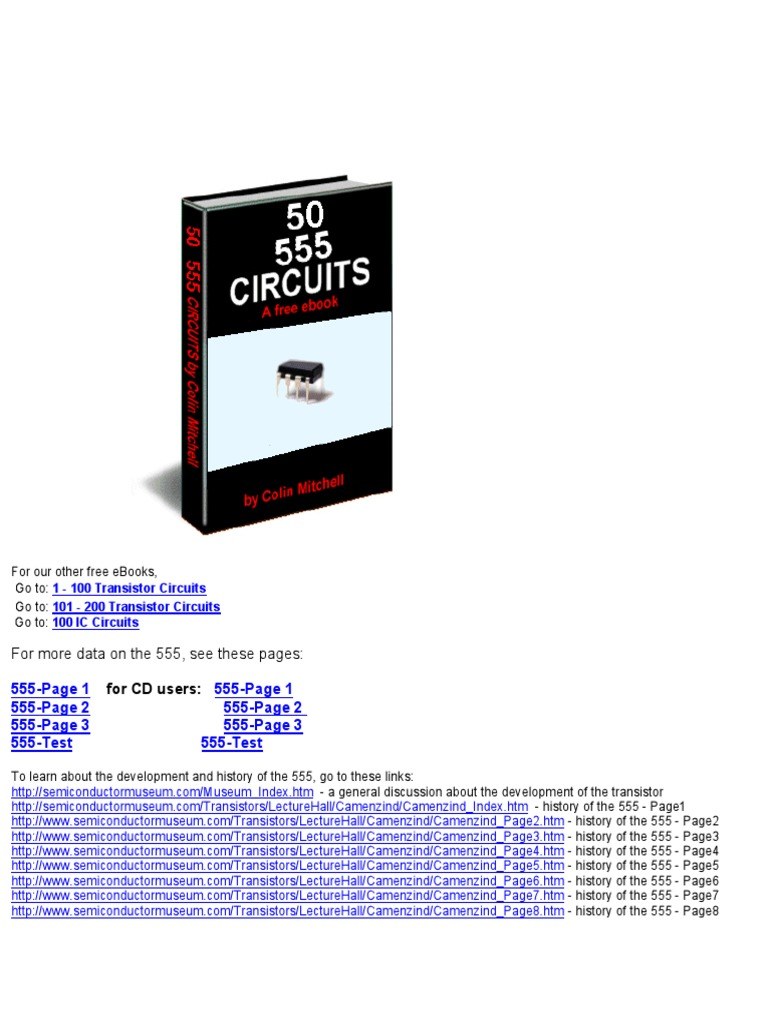 555 Timer Circuits Electronic Detector Radio Scmitt Trigger Circuit Using Ne