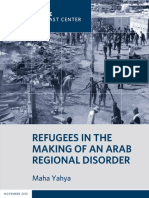 Refugees and the Making of an Arab Regional Disorder