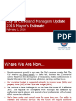 Mayor's Budget Estimate January 2016