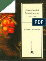 El otoño del Renacimiento-William J. Bouwsma