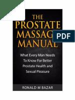 Prostate Massage Manual