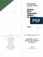 Historia Educación Mexico Uno