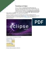 Cómo Instalar PhoneGap en Eclipse