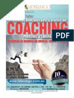 Brief Herramientas Avanzadas Para Practica Del Coaching_Febrero 2016