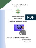 Unidad III El Marco Lc3b3gico en La Formulacic3b3n de Proyectos Sociales