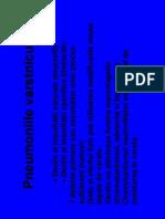 Pneumonia Varstnic