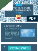 Responsabilidad Social Empresarial Empresa CNPC