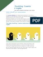 The Ugly Duckling. Cuento Infantil en Inglés