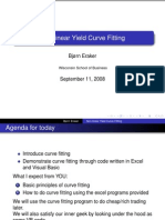 Fitting Nelson-Siegel yield curve with VBA