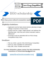 2016 Scholarship Competition
