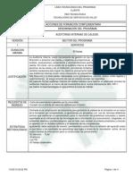 Programa de Formación Auditoria Interna Calidad