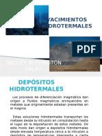 Yacimiento y depósitos hidrotermales