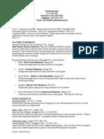 resume - hannah ramsey  1