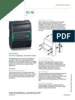 IO Module DI-16 Specification Sheet