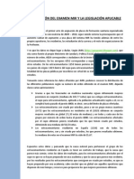 Legislación Extracomunitarios en el MIR. Datos y Reflexiones.
