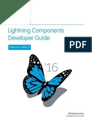 Lightning Component Developer Guide | Salesforce Com