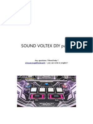 SDVX Tutorial En   Arduino   Manufactured Goods