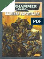 Warhammer 40k - Codex Marines Espaciales 4ª