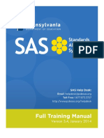 SAS Full Training Manual 1.13.2014