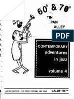 Contemporay Adventures in Jazz. Vol 4
