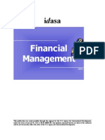 Financial Mgmt Training Notes