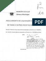 Adenda Ao Regulamento de Liquidação e Cobrança de Taxas