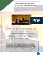 Conferencia Barrios Altos. delitos de lesa humanidad