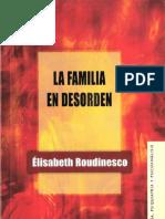La familia en desorden