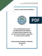 PLAN ÁREA TECNOLOGÍA E INFORMÁTICA 2014.docx