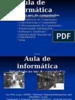 Slides Aula de Informática 1 - Perféricos