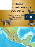 Culturas Mesoamericanas de Occidente
