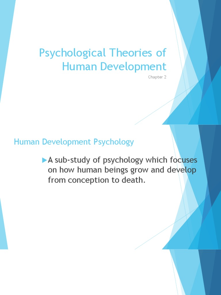 psychological theories of human development
