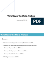 Watchtower Portfolio Analysis