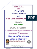 Marketing Project on SBI Channel Development