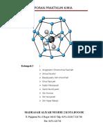 Laporan Praktikum Kimia - Reaksi Eksoterm dan Endoterm
