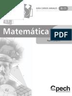 Guia Cursos Anuales - Geometria 2009