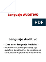 Lenguajes AUDITIVO
