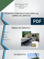 Obras de Servicio