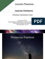 Distancias Estelares