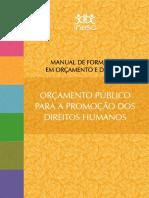 Orcamento Público e Direitos Humanos - Material formativo