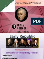 monroe timeline reading