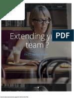 design for job portal home/index page