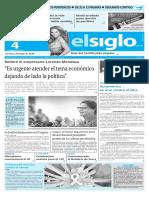 Edición Impresa Elsiglo 04-02-2016