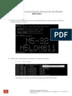 Manual CCO Ejecución Depuración