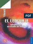 El Lenguaje - Introduccion al Estudio del Habla (Edward Sapir ,1921).pdf