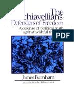 1943 BURNHAM Machiavellians