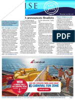 Cruise Weekly for Thu 04 Feb 2016 - CLIA finalists, 158 struck down by gastro, RCL, Scenic, Cruise Team, Ponant, Silversea AMPERSAND much more