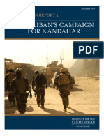 Afghanistan- The Taliban's Campaign For Kandahar
