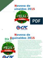 Invitacion Novenas 2015