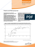 Eurostat - Statistics in focus - 107/2008 - Patents and R&D personnel
